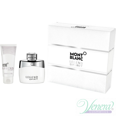 Mont Blanc Legend Spirit Комплект (EDT 50ml + AS Blam 100ml) за Мъже