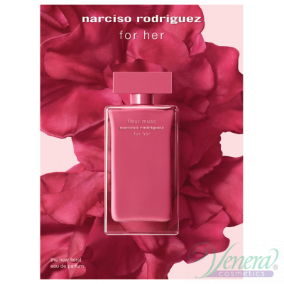 Narciso Rodriguez Fleur Musc for Her EDP 50ml pentru Femei Women's Fragrance