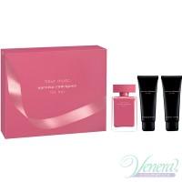 Narciso Rodriguez Fleur Musc Комплект (EDP 50ml + BL 75ml + SG 75ml) за Жени Дамски Комплекти