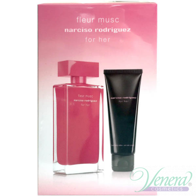 Narciso Rodriguez Fleur Musc Комплект (EDP 100ml + BL 75ml) за Жени Дамски Комплекти