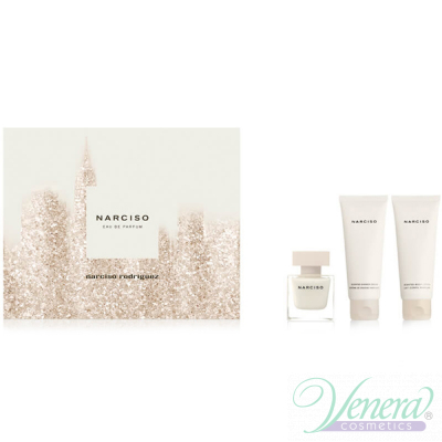 Narciso Rodriguez Narciso Set (EDP 50ml + BL 75ml + SG 75ml) for Women Sets