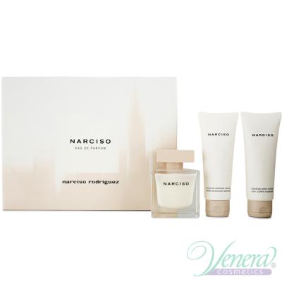 Narciso Rodriguez Narciso Комплект (EDP 90ml + BL 75ml + SG 75ml) за Жени