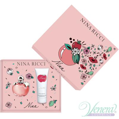 Nina Ricci Nina Комплект (EDT 50ml + BL 75ml) за Жени Дамски Комплекти