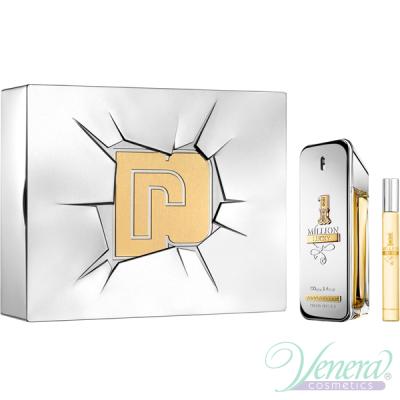 Paco Rabanne 1 Million Lucky Комплект (EDT 100ml + EDT 10ml) за Мъже Мъжки Парфюми без опаковка