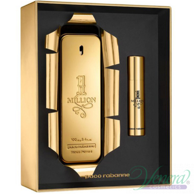 Paco Rabanne 1 Million Комплект (EDT 100ml + EDT 10ml) за Мъже