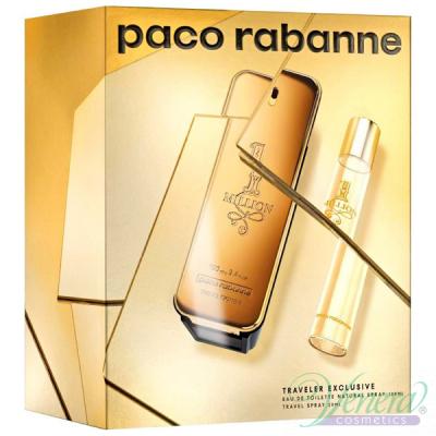 Paco Rabanne 1 Million Комплект (EDT 100ml + EDT 20ml) за Мъже Мъжки Комплекти