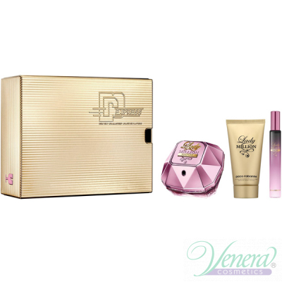 Paco Rabanne Lady Million Empire Комплект (EDP 80ml + EDP 10ml + BL 100ml) за Жени