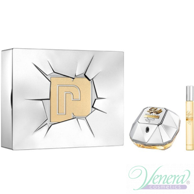Paco Rabanne Lady Million Lucky Комплект (EDP 80ml + EDP 10ml) за Жени Дамски Комплекти