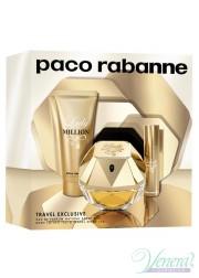 Paco Rabanne Lady Million Set (EDP 80ml + EDP 10ml + BL 75ml) για γυναίκες Γυναικεία Σετ