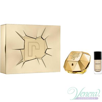 Paco Rabanne Lady Million Комплект (EDP 50ml + Nail Polish 9ml) за Жени Дамски Комплекти