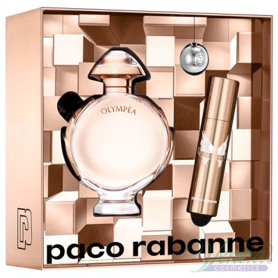 Paco Rabanne Olympea Комплект (EDP 50ml + EDP 10ml + Ключодържател) за Жени