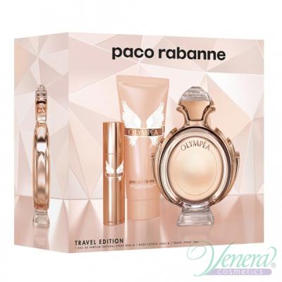 Paco Rabanne Olympea Комплект (EDP 80ml + EDP 10ml + BL 100ml) за Жени