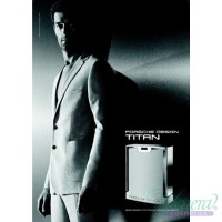 Porsche Design Titan EDT 80ml for Men Without Package Men's Fragrances without package