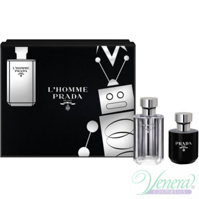 Prada L'Homme Комплект (EDT 50ml + Shower Cream...