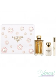 Prada La Femme Set (EDP 100ml + BL 100ml + EDP Roll-on 10ml) για γυναίκες