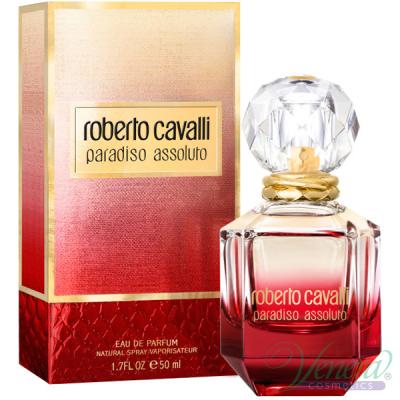Roberto Cavalli Paradiso Assoluto EDP 50ml за Жени Дамски Парфюми
