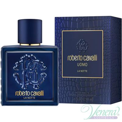 Roberto Cavalli Uomo La Notte EDT 100ml за Мъже Мъжки Парфюми
