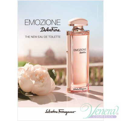 Salvatore Ferragamo Emozione Dolce Fiore EDT 92ml pentru Femei fără de ambalaj Women's Fragrances without package