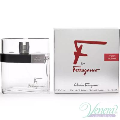 Salvatore Ferragamo F by Ferragamo Pour Homme EDT 100ml за Мъже Мъжки Парфюми