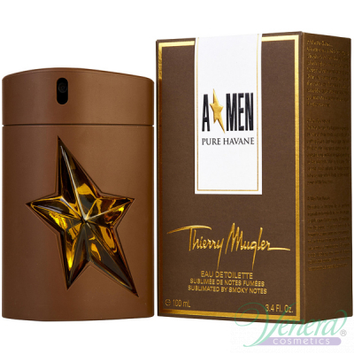 Thierry Mugler A*Men Pure Havane EDT 100ml за Мъже Мъжки Парфюми