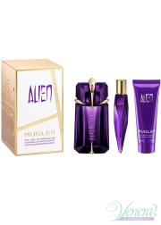 Thierry Mugler Alien Set (EDP 60ml + EDP 10ml + SG 50ml) για γυναίκες Γυναικεία σετ