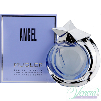Thierry Mugler Angel Eau De Toilette EDT 80ml за Жени Дамски Парфюми