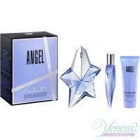 Thierry Mugler Angel Set (EDP 50ml + EDP 10ml + SG 50ml) for Women Women's Gift sets