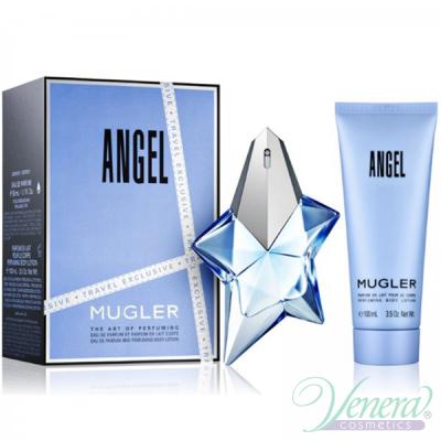 Thierry Mugler Angel Комплект (EDP 50ml + Body Lotion 100ml) за Жени Дамски Комплекти