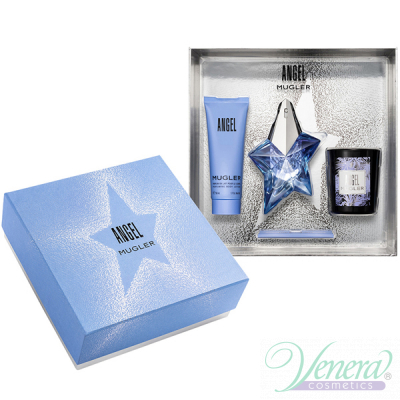 Thierry Mugler Angel Комплект (EDP 25ml + BL 50ml + Candle) за Жени