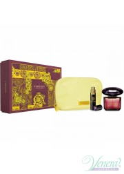 Versace Crystal Noir Set (EDT 90ml + EDT 10ml + Bag) για γυναίκες