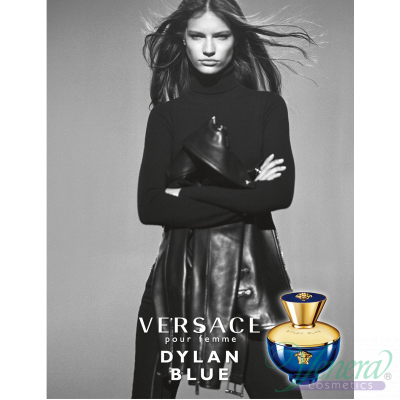 Versace Pour Femme Dylan Blue Set (EDP 100ml + EDP 10ml + Bag) за Жени Дамски Комплекти