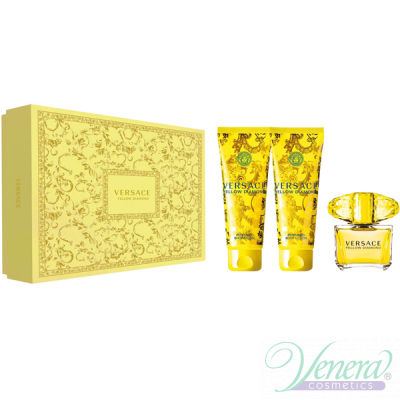 Versace Yellow Diamond Комплект (EDT 90ml ...