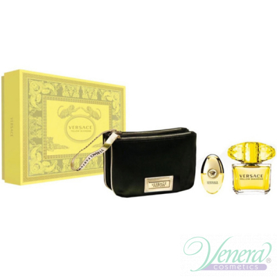 Versace Yellow Diamond Комплект (EDT 90ml + EDT 10ml + Bag) за Жени