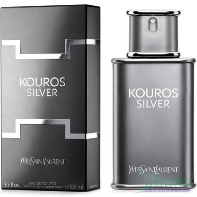 YSL Kouros Silver EDT 100ml за Мъже