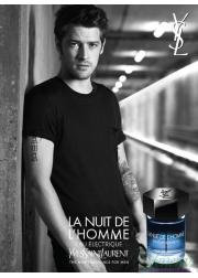 YSL La Nuit De L'Homme Eau Electrique EDT 100ml για άνδρες ασυσκεύαστo Ανδρικά Аρώματα χωρίς συσκευασία