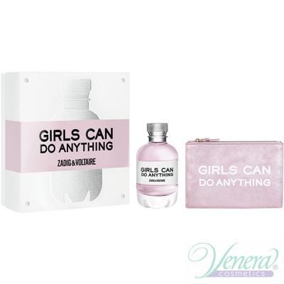 Zadig & Voltaire Girls Can Do Anything Комплект (EDP 50ml + Pouch) за Жени Дамски Комплекти