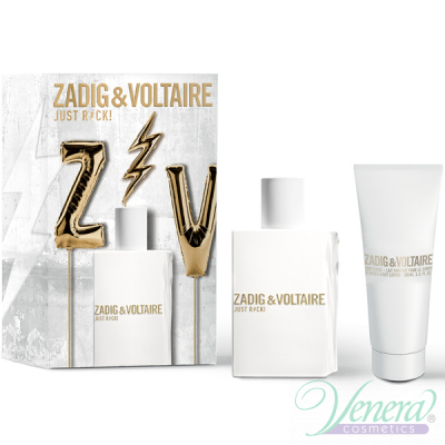 Zadig & Voltaire Just Rock! for Her Комплект (EDP 50ml + BL 100ml) за Жени Дамски Комплекти