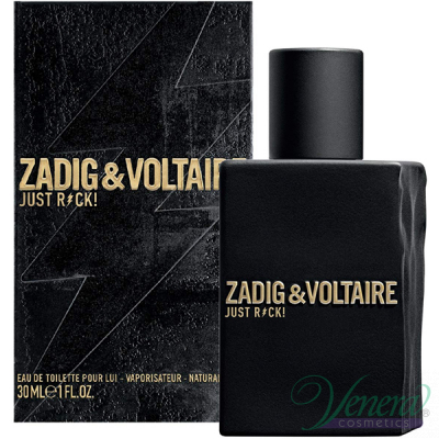 Zadig & Voltaire Just Rock! for Him EDT 30ml за Мъже