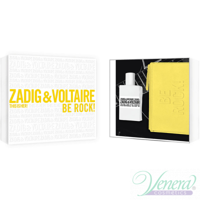 Zadig & Voltaire This is Her Комплект (EDP 50ml + Yellow Pouch) Be Rock! за Жени Дамски Комплекти