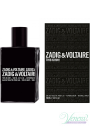 Zadig & Voltaire This is Him EDT 30ml για άνδρες