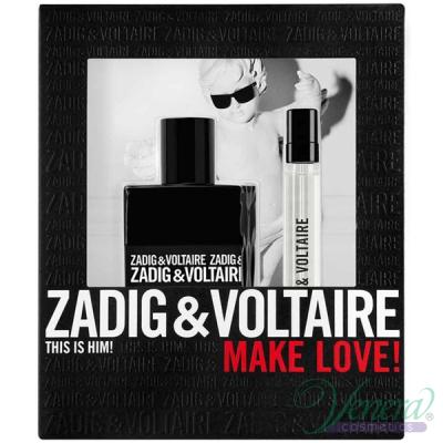 Zadig & Voltaire This is Him Комплект (EDT 50ml + EDT 10ml) за Мъже Мъжки Комплекти