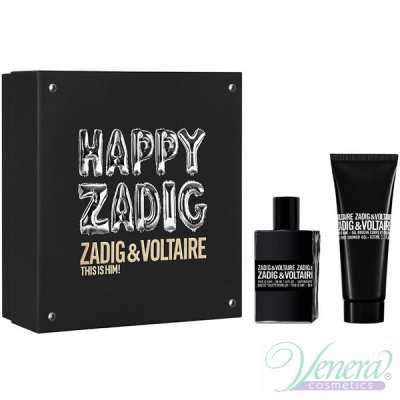 Zadig & Voltaire This is Him Set (EDT 50ml + SG 100ml) Happy Zadig! για άνδρες