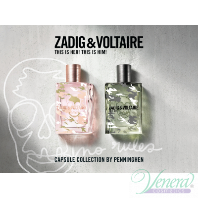 Zadig & Voltaire for Her No Rules EDP 100ml за Жени БЕЗ ОПАКОВКА Дамски Парфюми без опаковка