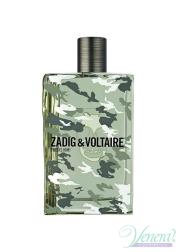 Zadig & Voltaire for Him No Rules EDT 100ml για άνδρες ασυσκεύαστo Ανδρικά Аρώματα χωρίς συσκευασία