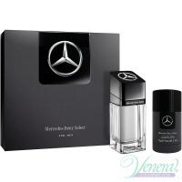 Mercedes-Benz Select Set (EDT 100ml + Deo Stick 75ml) για άνδρες Ανδρικά Σετ