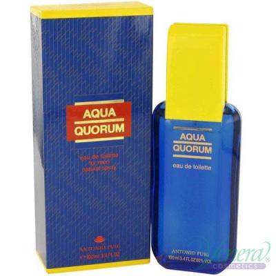 Antonio Puig Aqua Quorum EDT 100ml за Мъже Мъжки Парфюми