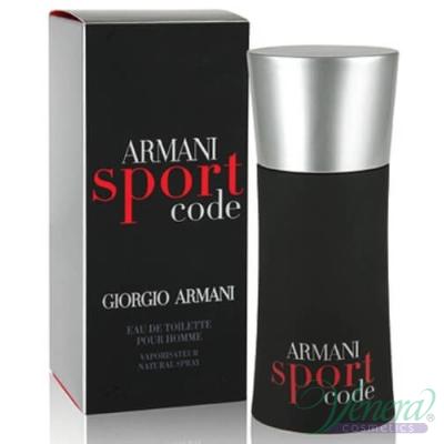 Armani Code Sport EDT 125ml за Mъже