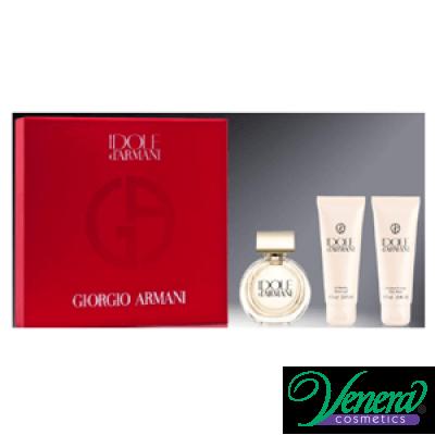 Armani Idole Комплект (EDP 50ml + BL 75ml + SG 75ml) за Жени Дамски комплекти