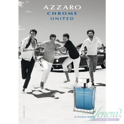 Azzaro Chrome United EDT 100ml за Мъже Мъжки Парфюми