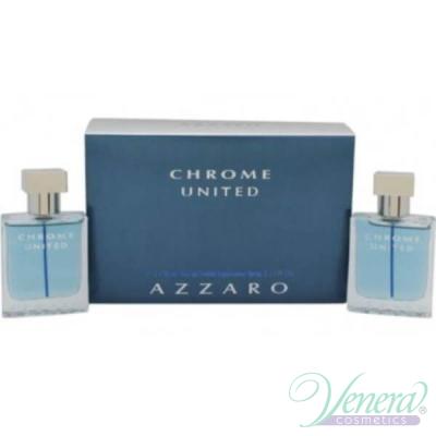 Azzaro Chrome United Set (EDT 30ml + EDT 30ml) για άνδρες